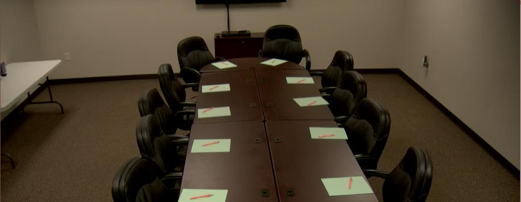 Strategic Research Associates Spokane Focus Group room in HD video.